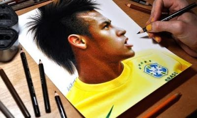 neymar 400x240 - Vẽ tranh 3D