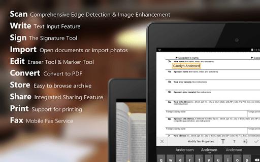 scanwrite 1 - ScanWritr: Quét tài liệu trên Android