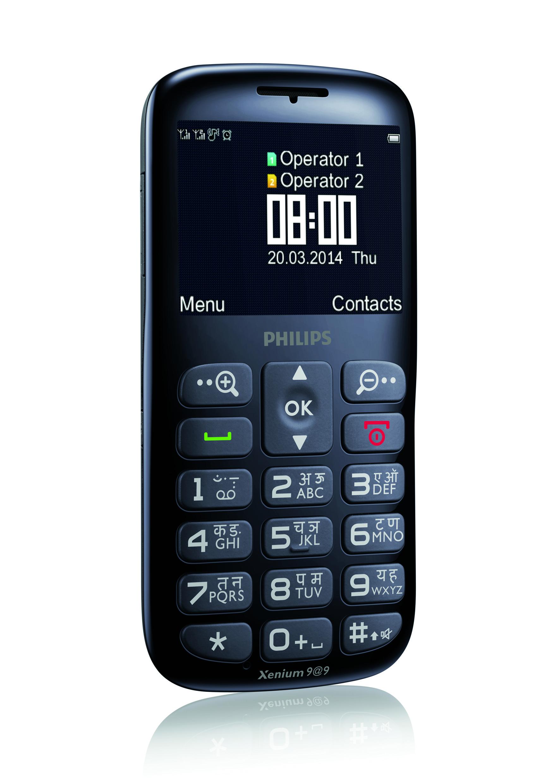 DR2 X2566 bu EN hi - Philips giới thiệu điện thoại cho người già