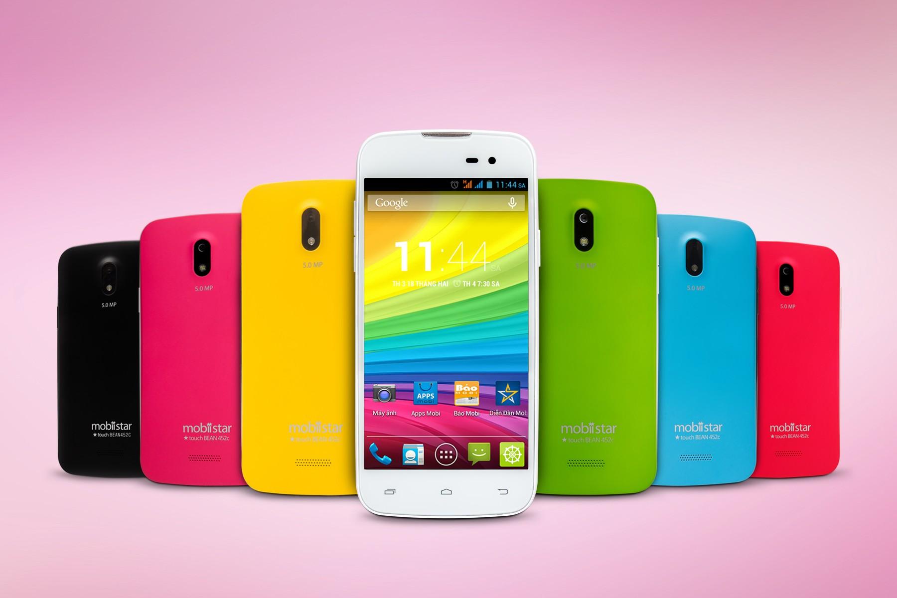 """Touch BEAN 452c 7 mau - Lỗi bảo mật """"dấu bằng"""" trên smartphone Mobiistar đã được khắc phục"""