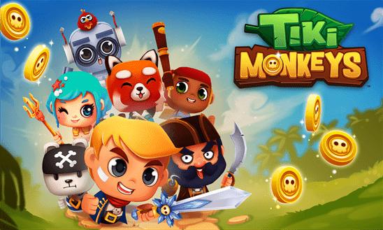 tiki monkeys 1 - Free the Network: Vượt chướng ngại vật