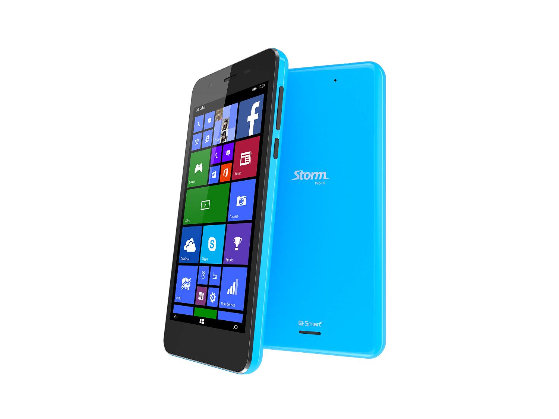 Storm W610 - Q-mobile ra mắt loạt điện thoại Q-Smart chạy Windows Phone