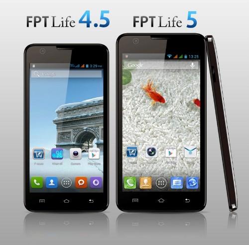 T Life - Bộ đôi smartphone dòng Life giá rẻ của FPT