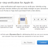 appleid two step verification 3 100x100 - Bảo vệ tài khoản Apple với tính năng bảo mật hai lớp