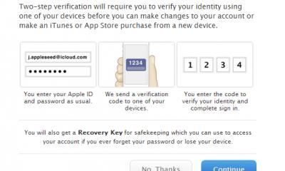 appleid two step verification 3 400x240 - Bảo vệ tài khoản Apple với tính năng bảo mật hai lớp