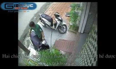 cuop sh 400x240 - Video: Cướp taxi tỉnh queo
