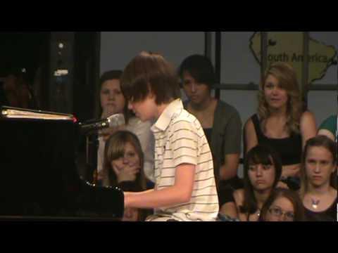 greyson chance - Cậu bé cover bài Paparazzi