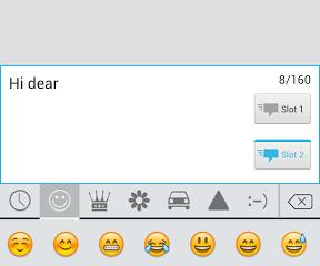 ikeyboard emoji 1 288x240 - iKeyboard: Một bàn phím tốt dành cho Android