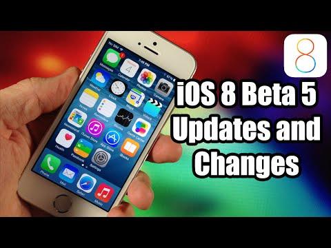 ios 8 beta 5 - Những thay đổi trong bản iOS 8 Beta 5
