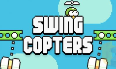 swing copters 400x240 - Ra mắt Swing Copters: Game mới của tác giả Flappy Birds