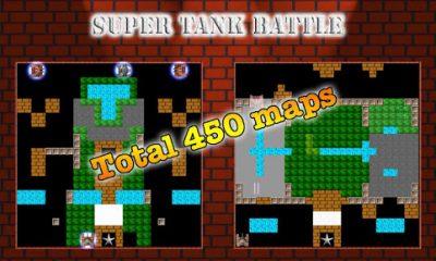 tank battle 1 400x240 - Super Tank Battle: Mô phỏng game bắn xe tăng nổi tiếng của Konami