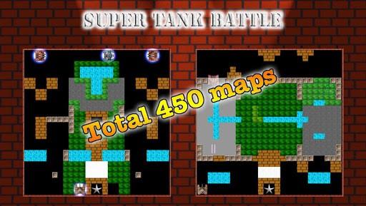 tank battle 1 - Super Tank Battle: Mô phỏng game bắn xe tăng nổi tiếng của Konami