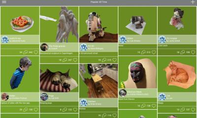 """123d catch 1 400x240 - """"Chụp ảnh 3D"""" trên Android"""