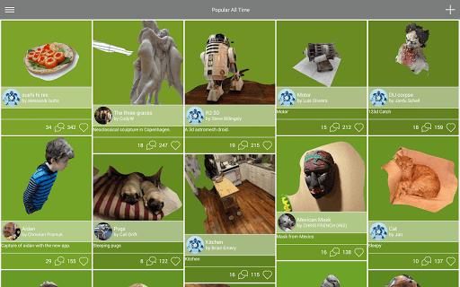 """123d catch 1 - """"Chụp ảnh 3D"""" trên Android"""