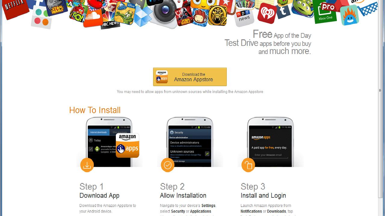 Amazon - Amazon cho phép tải miễn phí ứng dụng và trò chơi lên tới hơn 135 USD
