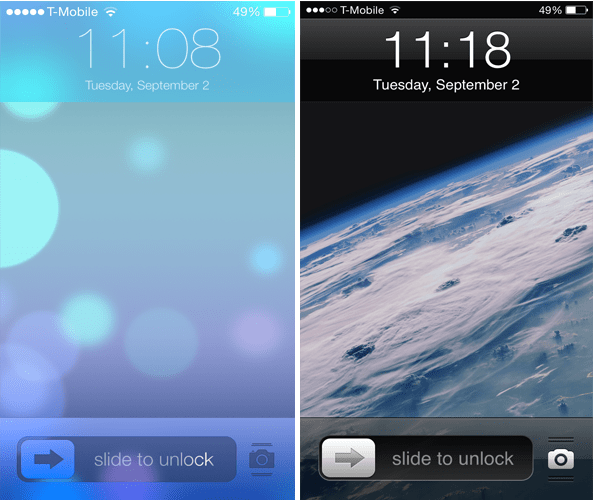classiclockscreen 1 - ClassicLockScreen: Thay đổi giao diện màn hình khóa iPhone