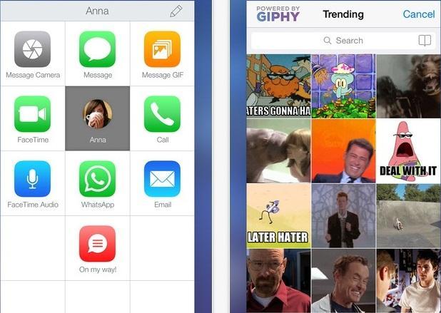 contact center - Contact Center: Liên lạc nhanh gia đình và bạn bè bằng iPhone