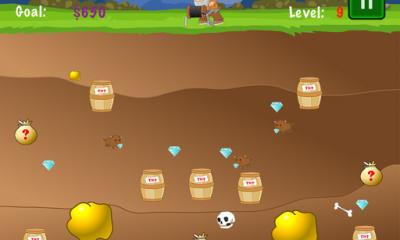 gold miner 2 400x240 - Gold Miner: Tựa game đào vàng cổ điển trên Android