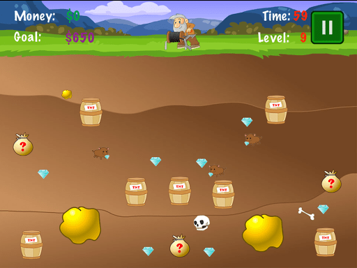 gold miner 2 - Gold Miner: Tựa game đào vàng cổ điển trên Android