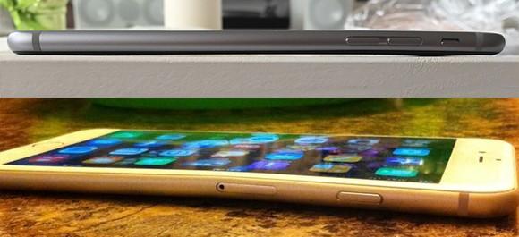 iphone 6 plus - iPhone 6 Plus đối mặt thảm hoạ… cong