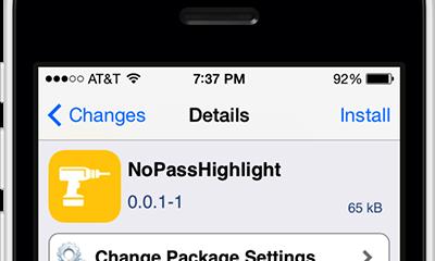 nopasshighlight 400x240 - Đề phòng lộ mật khẩu trên màn hình khóa với NoPassHighlight