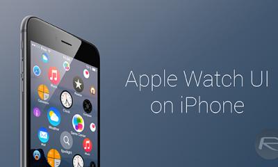 apple watch springboard 1 400x240 - Đưa giao diện Apple Watch lên iPhone
