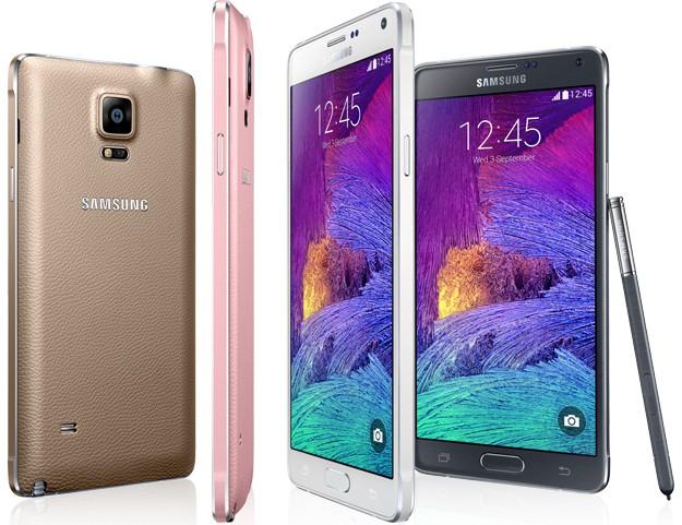 galaxy note 4 ban cap nhat - Samsung Galaxy Note 4 cải thiện pin với bản cập nhật mới