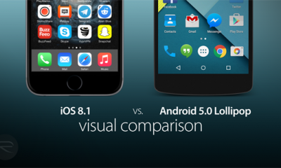 ios81 android50 400x240 - So sánh giao diện iOS 8 và Android 5.0 Lollipop
