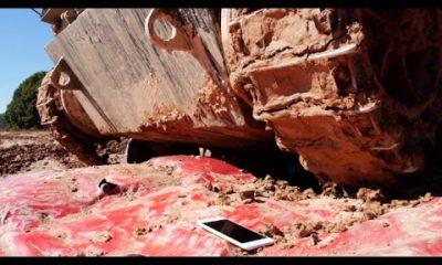 iphone 6 plus tank 400x240 - iPhone 6 Plus bị xe tăng cán qua sẽ thế nào?