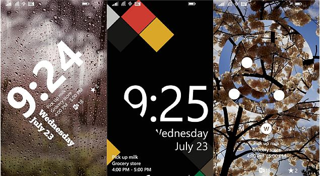 live lock screen - Thay màn hình khóa tuyệt đẹp trên Windows Phone