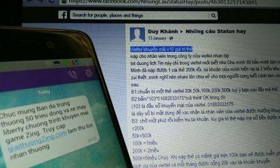 """lua dao facebook 400x240 - Thực hư chuyện """"nạp thẻ cào trúng thưởng"""""""