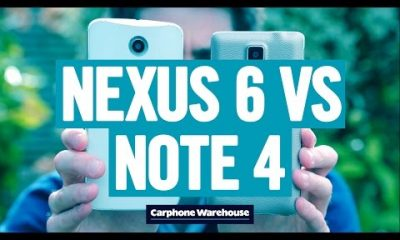 nexus 61 400x240 - So sánh Google Nexus 6 và Samsung Galaxy Note 4 qua Video