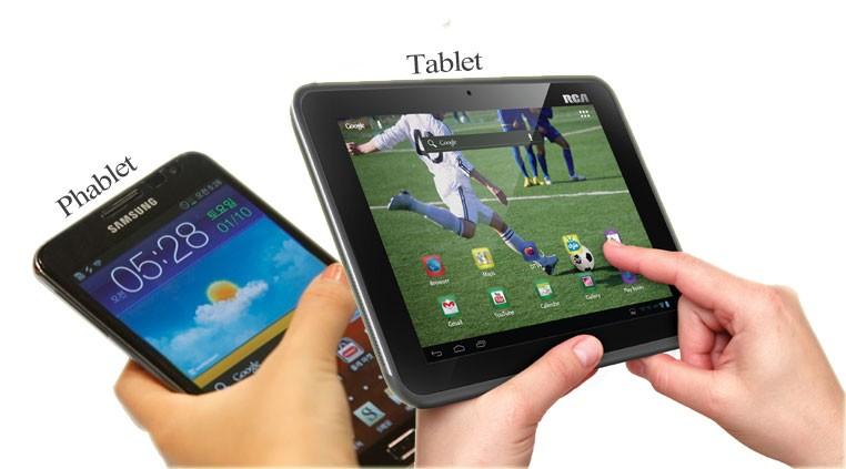 phablet tablet 1 - Cuộc chiến tablet và smartphone màn hình lớn