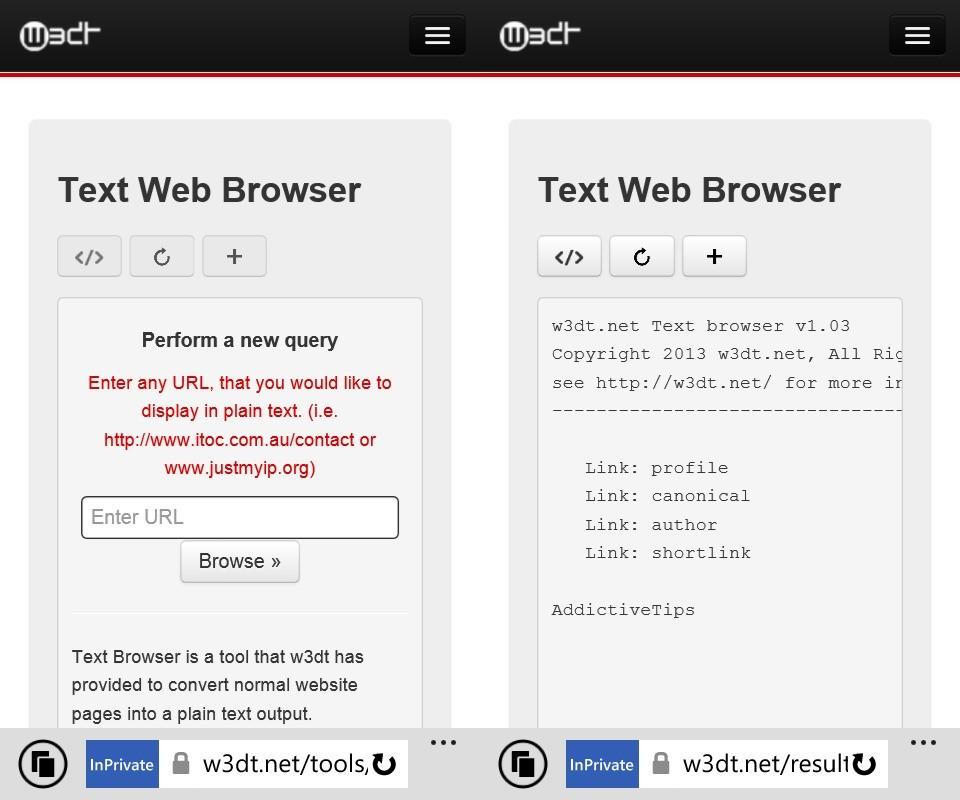 w3dt - Sao chép nhanh văn bản qua trình duyệt di động