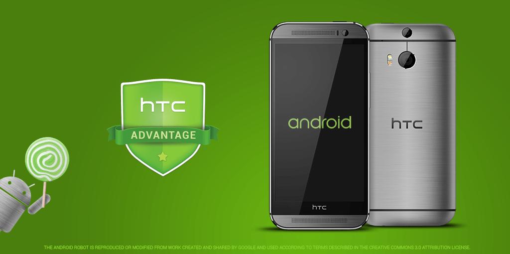 htc android 5.0 - HTC sẽ cập nhật One (M7 & M8) lên Android 5.0 trong 3 tháng tới