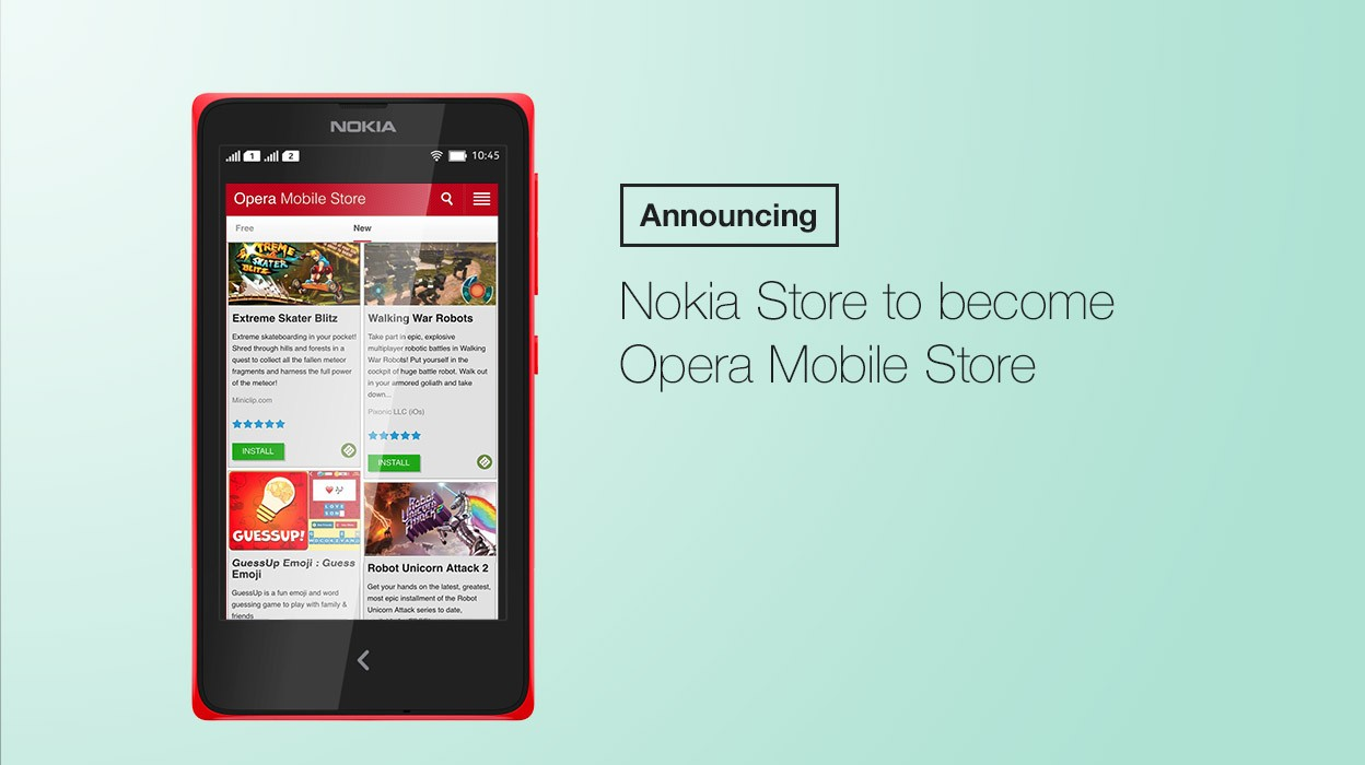 opera mobile store - Microsoft sẽ sử dụng Opera Mobile Store trên điện thoại Nokia