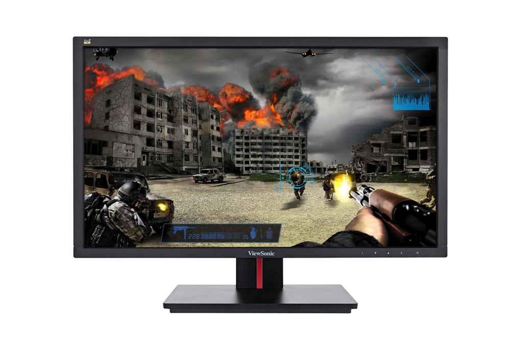 ViewSonic VG2401mh front view - ViewSonic VG2401mh – Màn hình giải trí dành cho Game và Video