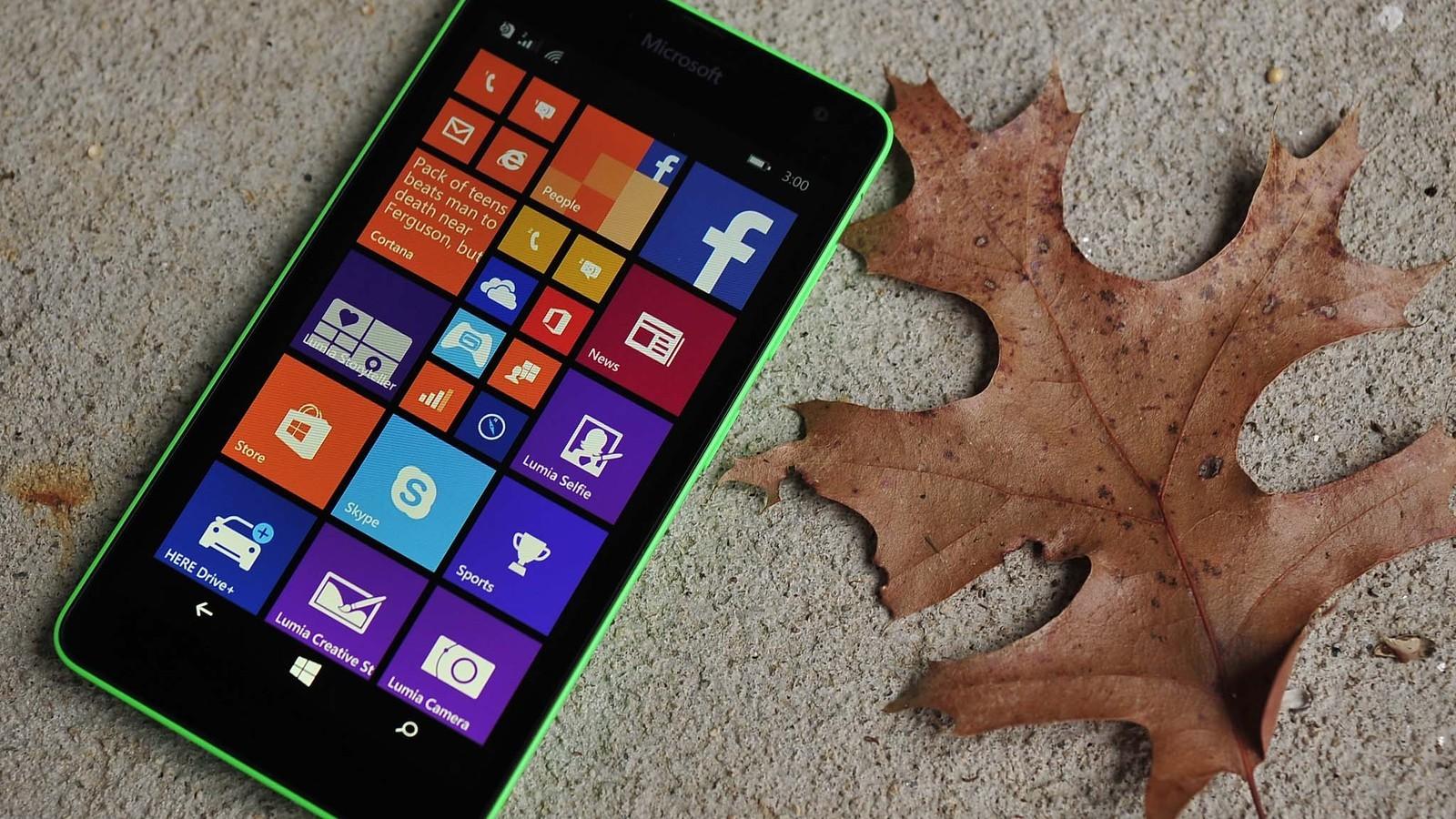 ban sua loi lumia 535 - Microsoft xác nhận tung ra bản sửa lỗi cảm ứng cho Lumia 535