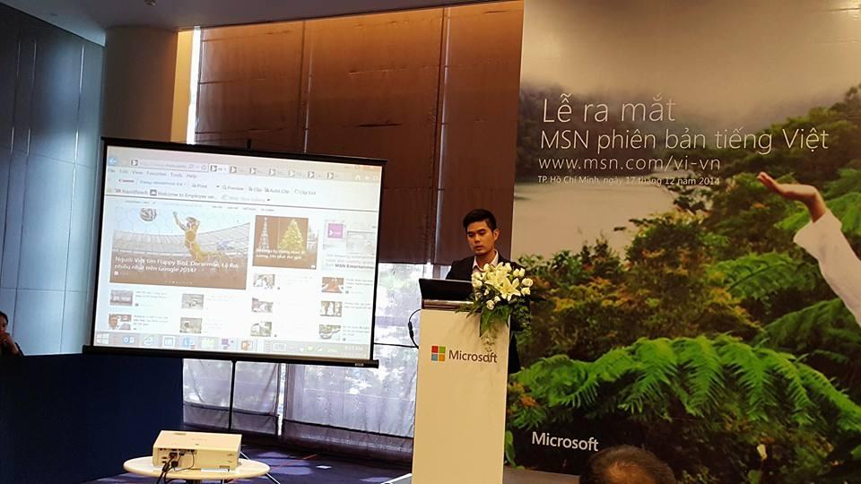 microsoft msn phien ban tieng viet - Microsoft ra mắt trang thông tin MSN tiếng Việt