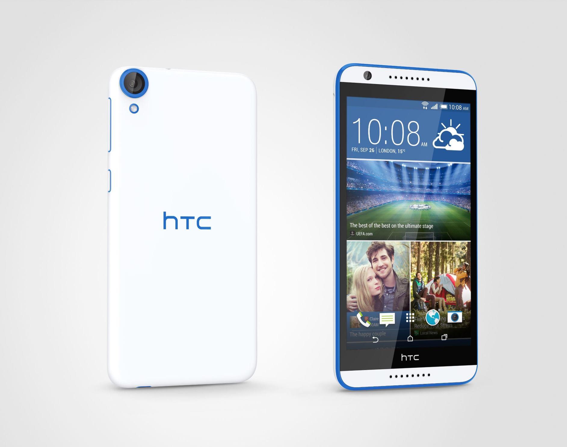 HTC Desire 820q Per right - HTC Desire 820q và HTC Desire 320 ra mắt tại Việt Nam