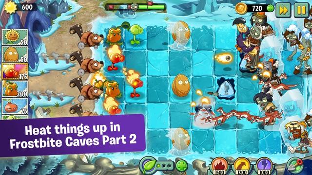 plants vs zombies 2 1 - Plants vs. Zombies 2 tung bản cập nhật mới