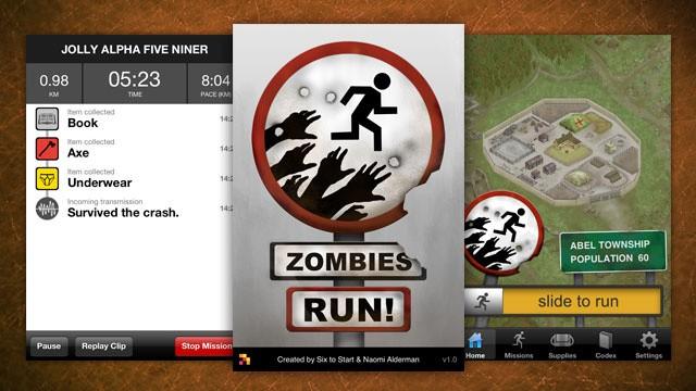 """zombie run - Tập thể dục cùng… """"thây ma"""""""