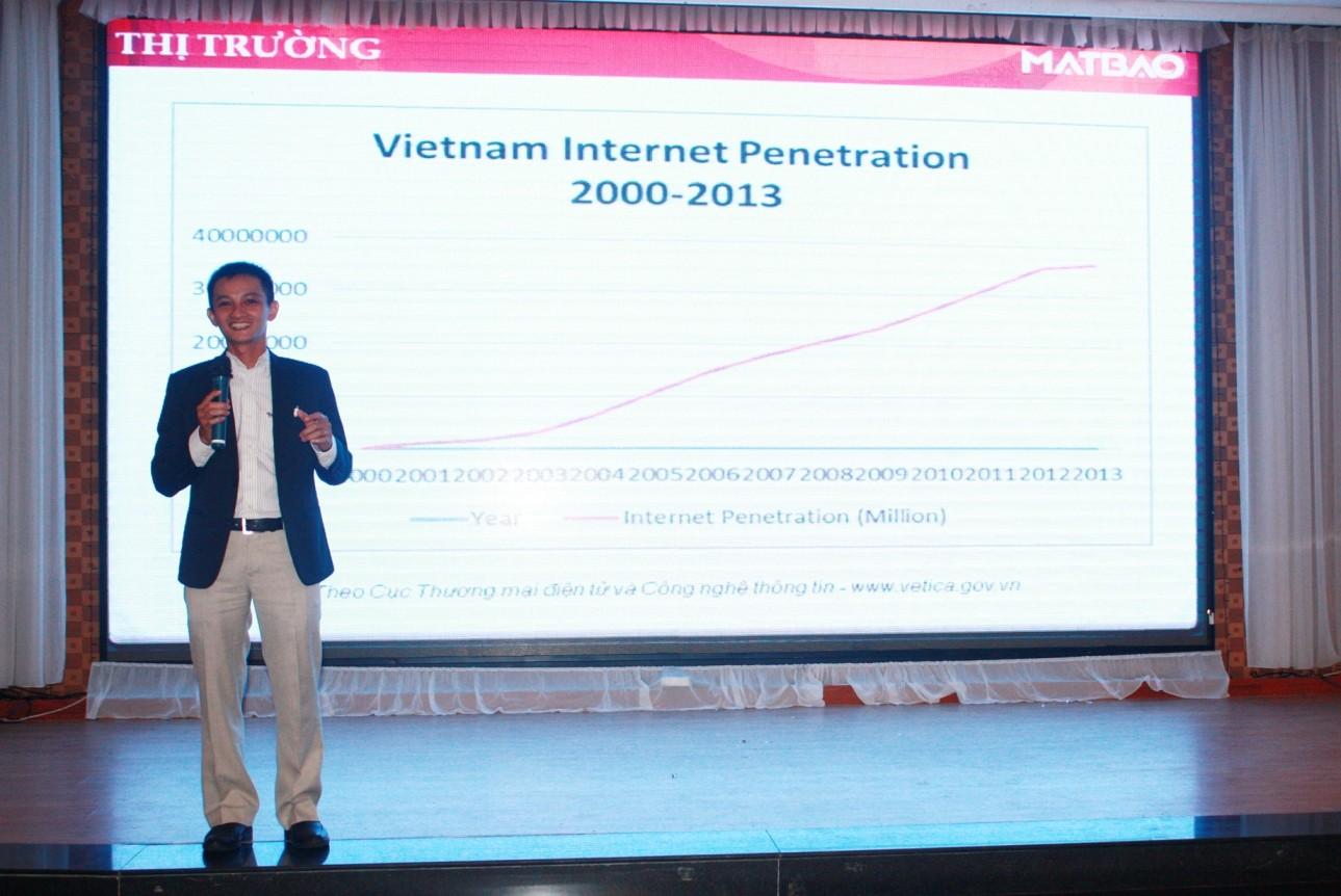 Huynh Ngoc Duy GD Dieu Hanh Mat Bao Media - Doanh nghiệp vừa và nhỏ Việt Nam sẽ nắm bắt được nhiều cơ hội nhờ tham gia thương mại điện tử