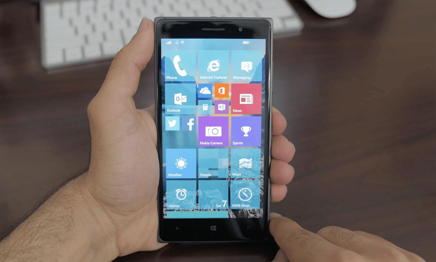 """microsoft windows 10 - Microsoft muốn """"hô biến"""" điện thoại Android thành Windows 10 ?"""