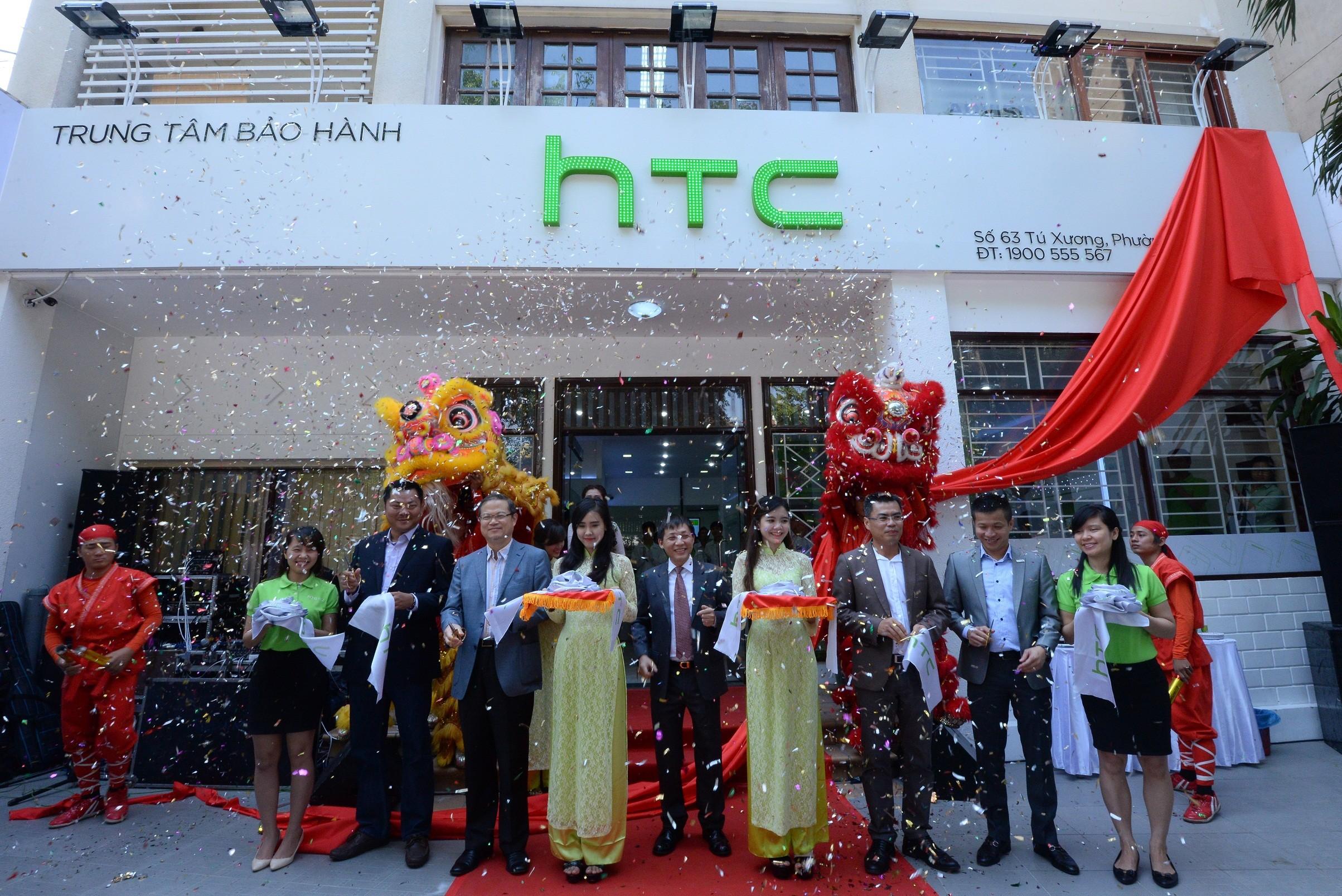 DSC 80851 - HTC khai trương trung tâm bảo hành được ủy quyền mới tại TP.HCM