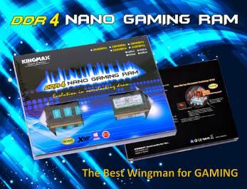RAM DDR4 KINGMAX - KINGMAX giới thiệu dòng RAM DDR4 Nano Gaming