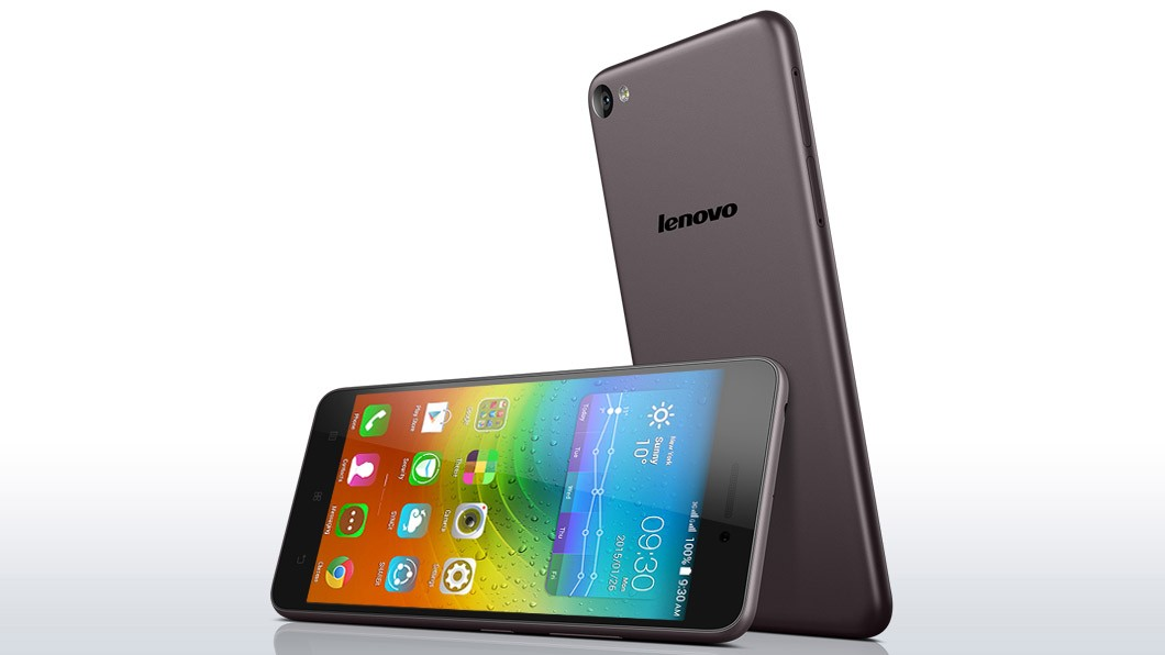 lenovo smartphone s60 grey front back 14 - Lenovo ra mắt smartphone giải trí S60