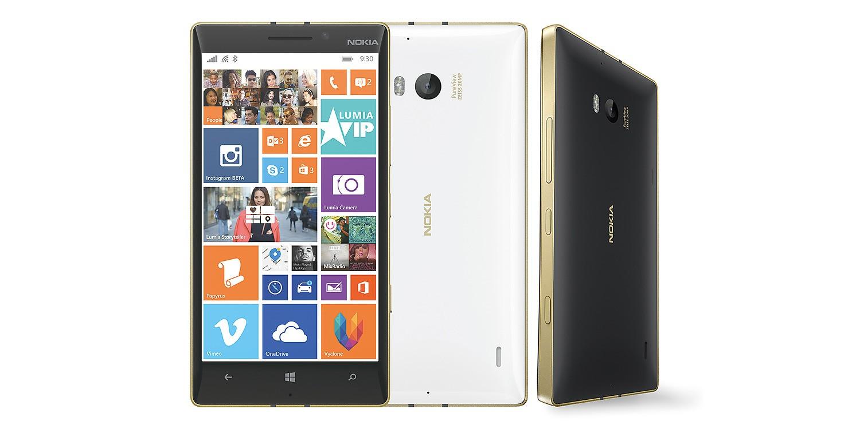 lumia 930 - Lumia 930 và Lumia 830 phiên bản vàng chính thức được bán ra