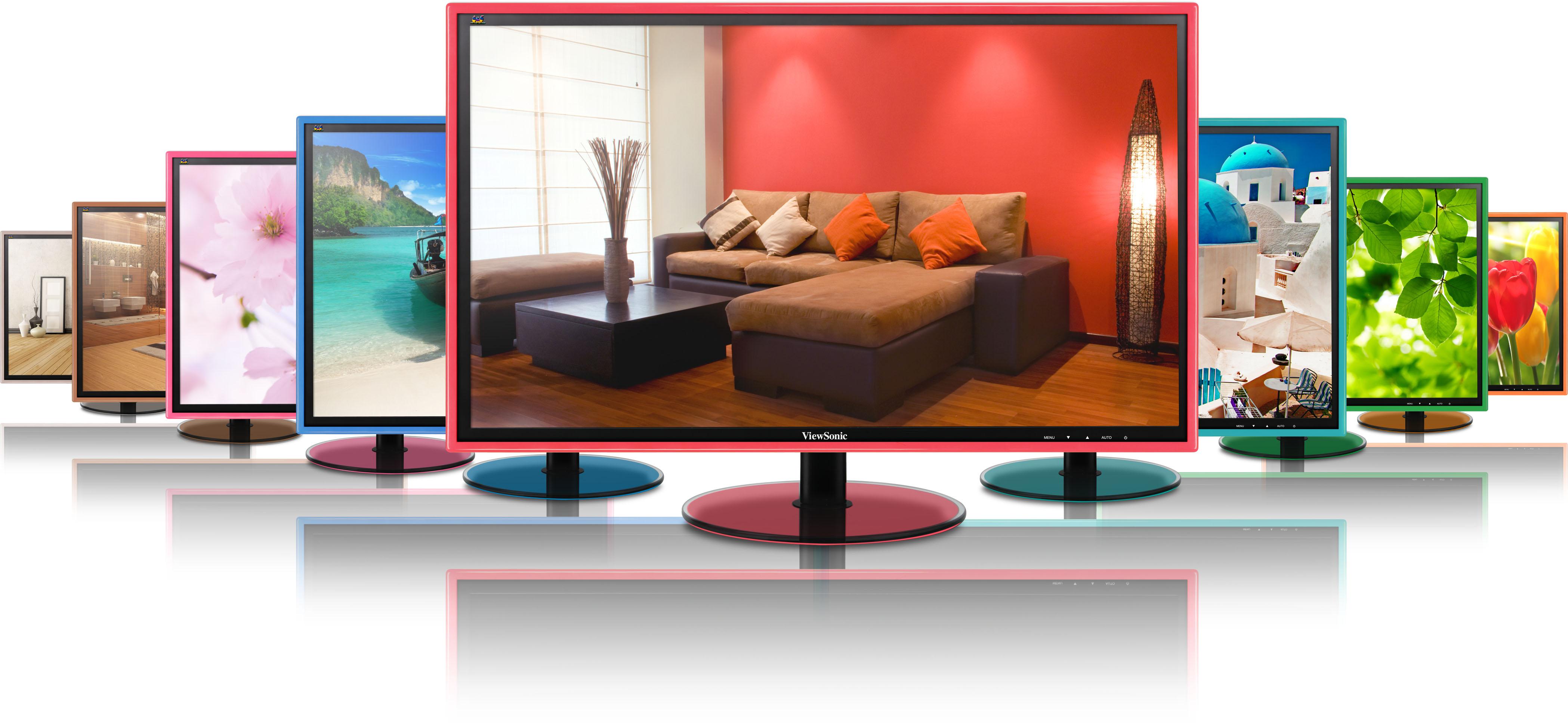 View 2 - ViewSonic giới thiệu màn hình VX2209 và VX2409 dành cho game thủ
