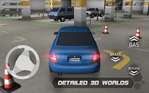 parking 3d - Game hay cho iPhone ngày 8/6/2015